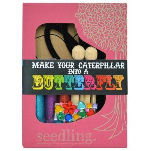 Make your Caterpillar into a Butterfly