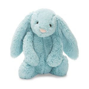 Bashful Aqua Bunny Medium