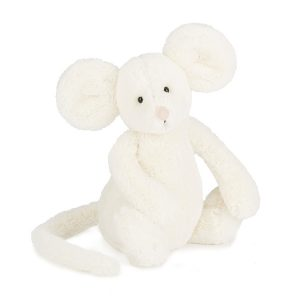 Bashful Cream Mouse Medium