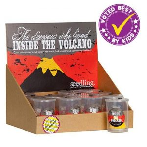 The Dinosaur who lived inside the Volcano (set12)